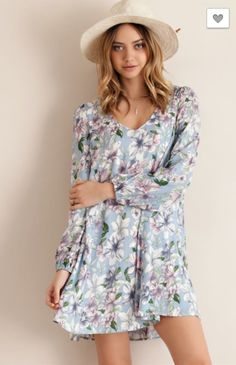 Floral Frenzy Dress...Must have spring dress!!!! Great movement and the perfect pattern for spring 2016  $39
