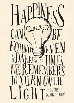 Felicidad puede ser encontrada incluso en la más oscura por akmo