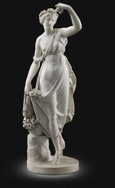Workshop of Scipione Tadolini. ITALIAN 1822-1892. FLORA