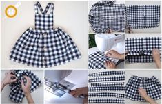 Would You Like To Learn How To Make A Baby Dress From Old Shirt? - Would you like to learn how to make a baby dress from old shirt? Old Shirts, Dad To Be Shirts, Diy Kleidung, Diy Mode, Business Outfit, Classic Outfits, Sewing For Kids, Diy Clothes, Clothes Refashion