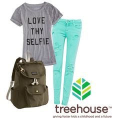 7th Grade girls are looking for flowy tops and colorful skinny jeans in sizes S-L for tops and 5-9 in bottoms.  They also are looking for JanSport Backpacks for all their school supplies!