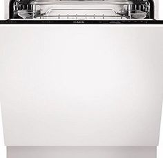 AEG F34300VI0 13 Place Fully Integrated Dishwasher Flexible racks and baskets - space for up to 13 place settings Delay-start function for efficiently planning the housework Rinse amp