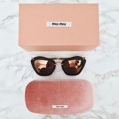 THE Perfect Sunglasses. Rose gold + matte black.