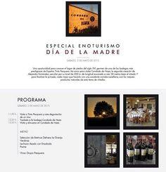 Plan de #Enoturismo para el #DiaDeLaMadre, de la mano de @grupopesquera. Visita sus dos rincones #RiberadelDuero
