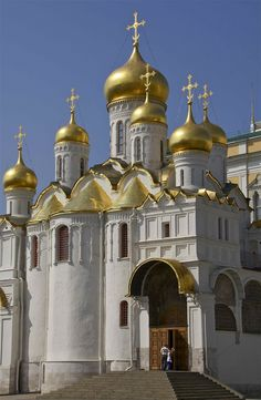 Kremlin - Cathedral Square   Moscow, Russia