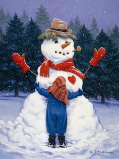 Big Hug - John Sloane.  Cute art collection.