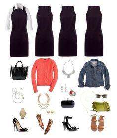 One Key Wardrobe Piece Styled Four Ways: The Little Black Dress