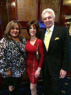 Deana Martin with Elaine Hackett & her husband John Griffeth