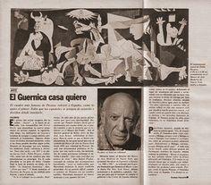 Pintura. Pablo Picasso, el Guernica casa quiere