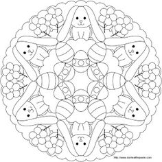 Don't Eat the Paste - Easter mandala