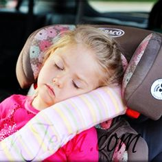 Learn how to make these cozy seat belt pillows both kids and adults can enjoy on long car rides.