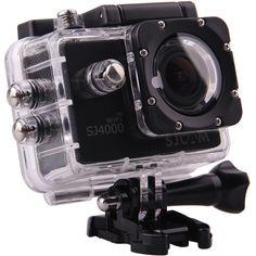 SJCAM SJ4000 Action Camera with Wi-Fi (Black) $89 12mp, HD @ 60fps, WiFi, Waterproof to 100'