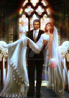 Married by thanomluk.deviantart.com on @DeviantArt