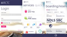 IRCTC Mobile application is now available for Nokia Lumia WP smartphones - 1.0.0.0   Indian Railway Catering and Tourism Corporation (IRCTC), a subsidiary of the Indian railway catering manager that handles the catering, tourism and online ticketing operations of the railways companies have released an official application Nokia Lumia WP smartphones, which is available in Windows Phone Store.