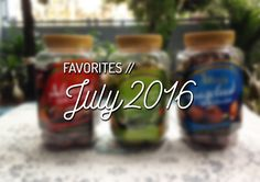 Good bye July, hello August! What are the things you love about July? :D #blog #lifestyleblogger #food #music #tvseries #youtube