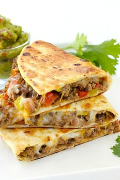 Pan fried beef tacos are cheesy, beefy, and oh so good! This easy recipe will change the way you make tacos forever. Pan fried beef tacos are cheesy, beefy, and oh so good! This easy recipe will change the way you make tacos forever. Fried Tacos, Crispy Tacos, Taco Dinner, Fried Beef, Quesadilla Recipes, Quesadilla Burgers, Mexican Dishes, Mexican Pizza, Ground Beef Recipes