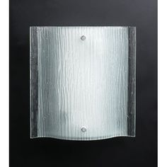 PLC Lighting PLC 7536 Wall Washer Sconce from the Leela Collection - Silver