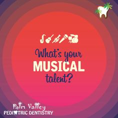 Our patients are so talented! Do you sing or play an instrument?  Palm Valley Pediatric Dentistry    www.pvpd.com #pediatricdentistry #inspiration #internationaldayofpeace #MercyVideoNow #love #livemusic #dance #nightclub #club #party #weekend #music #fun #night #WednesdayWisdom