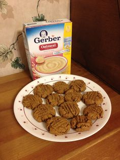 How to Make Baby Cereal Cookies!