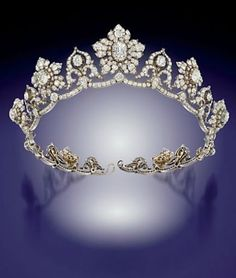 Lotus Circlet Tiara