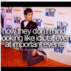 liam payne, you are perf... X''''D how they don't mind looking like idiots. even at important events <3