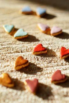 How to make a stud earring. Love Heart Earrings - Step 5