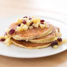 From America's Test Kitchen Gluten Free Cookbook - Lemon Ricotta Pancakes. Made 01/29/15