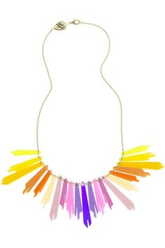 Tatty Devine Radiance Link Necklace - Sunrise - Awesome! Such beautiful colours!!!