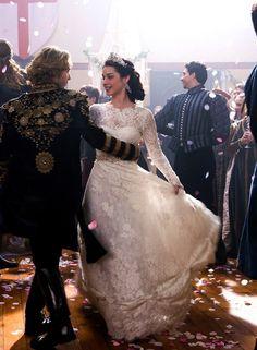 Vestido de casamento da Mary, rainha da Escócia em reign