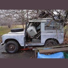 When she comes with spares.  My 1961 series 2 swb Land Rover.  #LandRover #LandRoverseries #landroverseries2 #landroverdefender #1961 #series2 #defender #best4x4xfar #onelifeliveit #landroverserispics by scienceaddict When she comes with spares.  My 1961 series 2 swb Land Rover.  #LandRover #LandRoverseries #landroverseries2 #landroverdefender #1961 #series2 #defender #best4x4xfar #onelifeliveit #landroverserispics