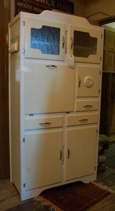 A mid century kitchen larder,
