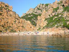 la spiaggia Li Cossi