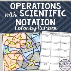 11 Operations with Scientific Notation Worksheet Answers Halloween Math Operations with Scientific Notation Coloring Activity The kids can enjoy Number Worksheets, Math Worksheets, Alphabet Worksheets, Colo. Math Movies, Simplifying Expressions, Scientific Notation, Thanksgiving Math, Math Teacher, Math 8, Halloween Math, Secondary Math, Math Resources