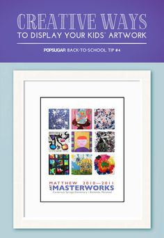 The Best Ways to Curate Your Kids' Artwork
