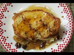 Holiday Morning French Toast - so easy to prepare the night before!