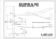 Supra Pro F3J Glider