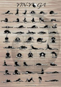 Yin Yoga Poses--deep stretches