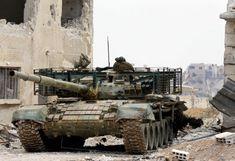 Syrian army tightens noose around Palestinian camp - Welcome Qatar T 72, Syrian Civil War, Military Armor, Armored Fighting Vehicle, War Photography, Military Equipment, Modern Warfare, Panzer, War Machine