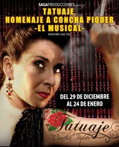 TATUAJE, homenaje a Concha Piquer - http://www.valenciablog.com/tatuaje-homenaje-a-concha-piquer/