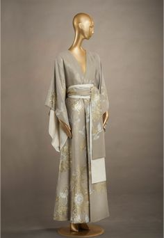 805bd396e Carine Gilson Look 01 - Long Kimono Jacquard Silk witches formal robes  Wizarding fashion magical style