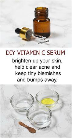 DIY vitamin c serum
