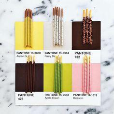 Designer Creatively Pairs Food with Their Pantone Swatch Colors - My Modern Met