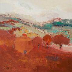 Paysages de Chantal Parise.