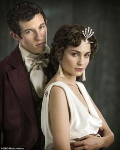 Siblings: The actress stars alongside Callum Turner, who plays her character's brother Anatole Kuragin