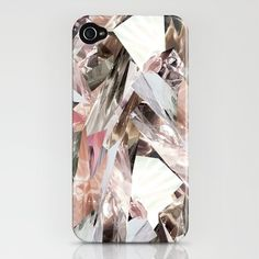 Crystal Pattern iPhone Case by RoandCo