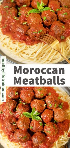 Moroccan Meatballs are very delightful and delicious, with a Moroccan palate. Ground beef seasoned with warm spices, fresh herbs, and garlic. The meatballs are cooked until they become smoky and charred. All this floats in a delicious tomato sauce. Meatballs in a red sauce are a classic combination that can be seen in many different cuisines across the world. #easymeatballs #Moroccanmeatballs Moroccan Meatballs, Ground Beef Seasoning, Red Sauce, Recipes From Heaven, Foodblogger, Fresh Herbs, Tomato Sauce, Spaghetti, Spices