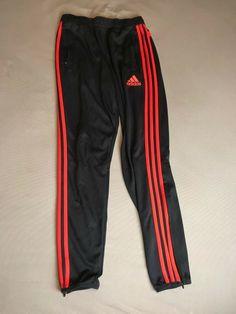 82b437d29bf3 ADIDAS Jogger Athletic Pants 3 Stripes Orange   Dark Grey Men s medium   fashion  clothing  shoes  accessories  mensclothing  activewear (ebay link)
