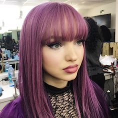 Dove Cameron on @dlsmakeup Instagram.