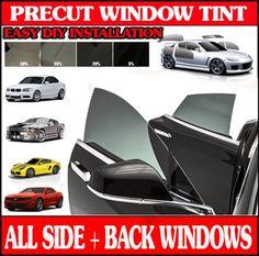 PRECUT FRONT DOORS TINT W// 3M COLOR STABLE FOR HONDA ELEMENT 03-11