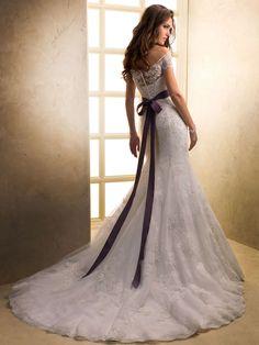 Purple Wedding Dress Photos HD